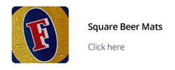 square beermats 94 x 94